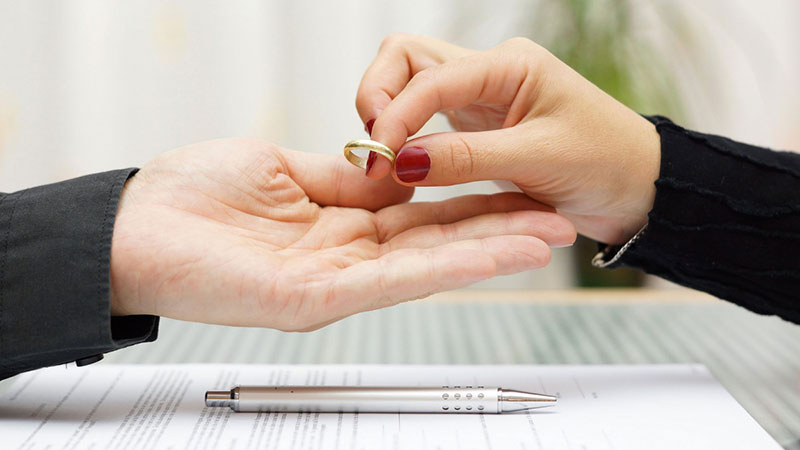 Прекращение брака